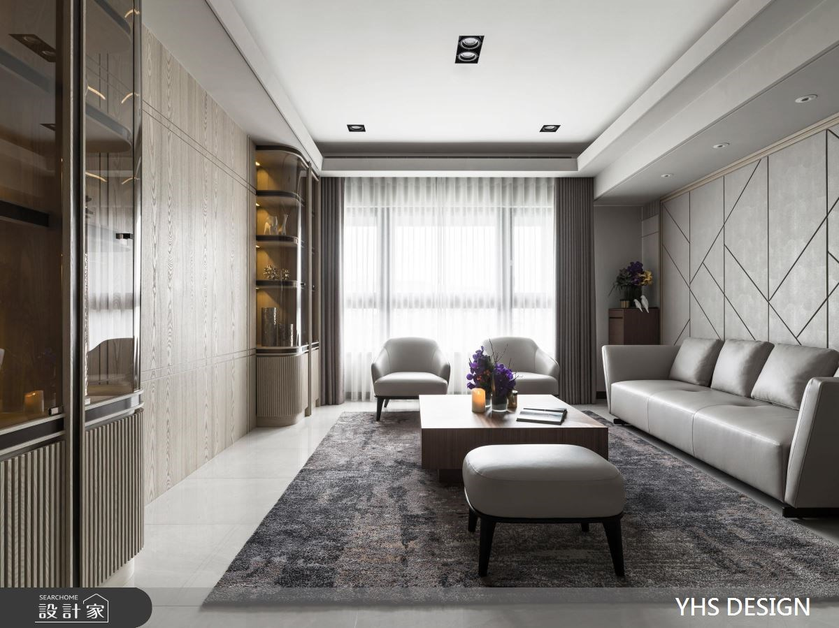 但求歲月靜好!輕撫新古典宅的簡約木質感