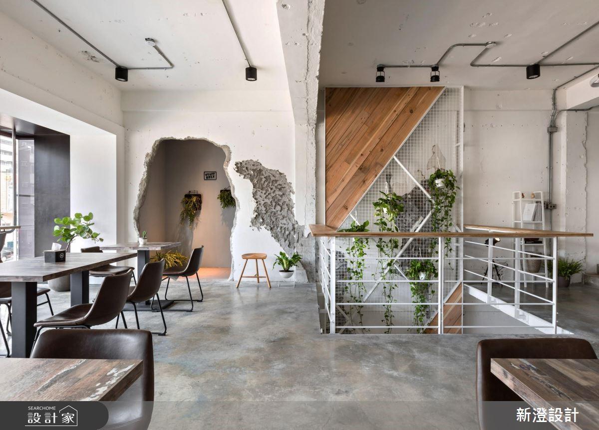 網美IG打卡熱點!空間破了一個洞的新奇早午餐店