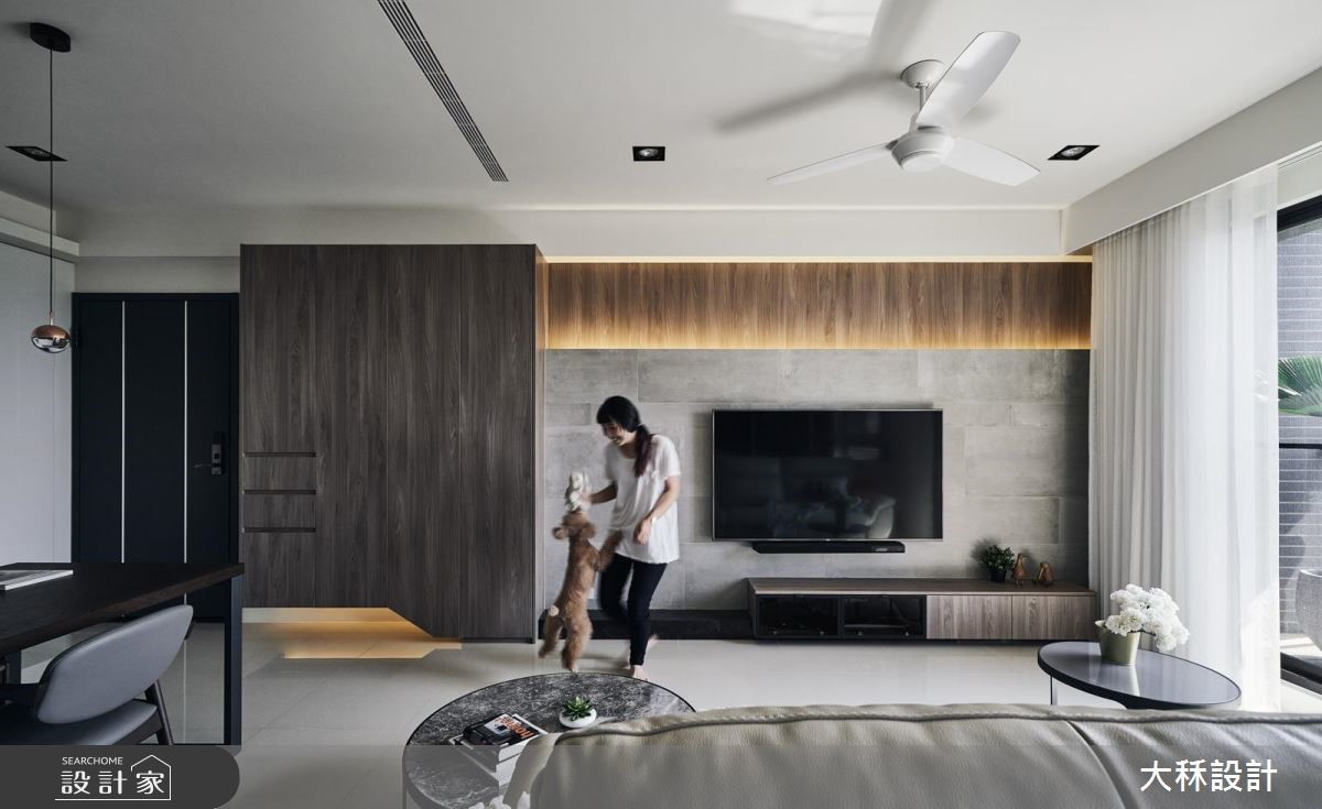 減壓指數百分百的單身宅!現代風的好生活輪廓