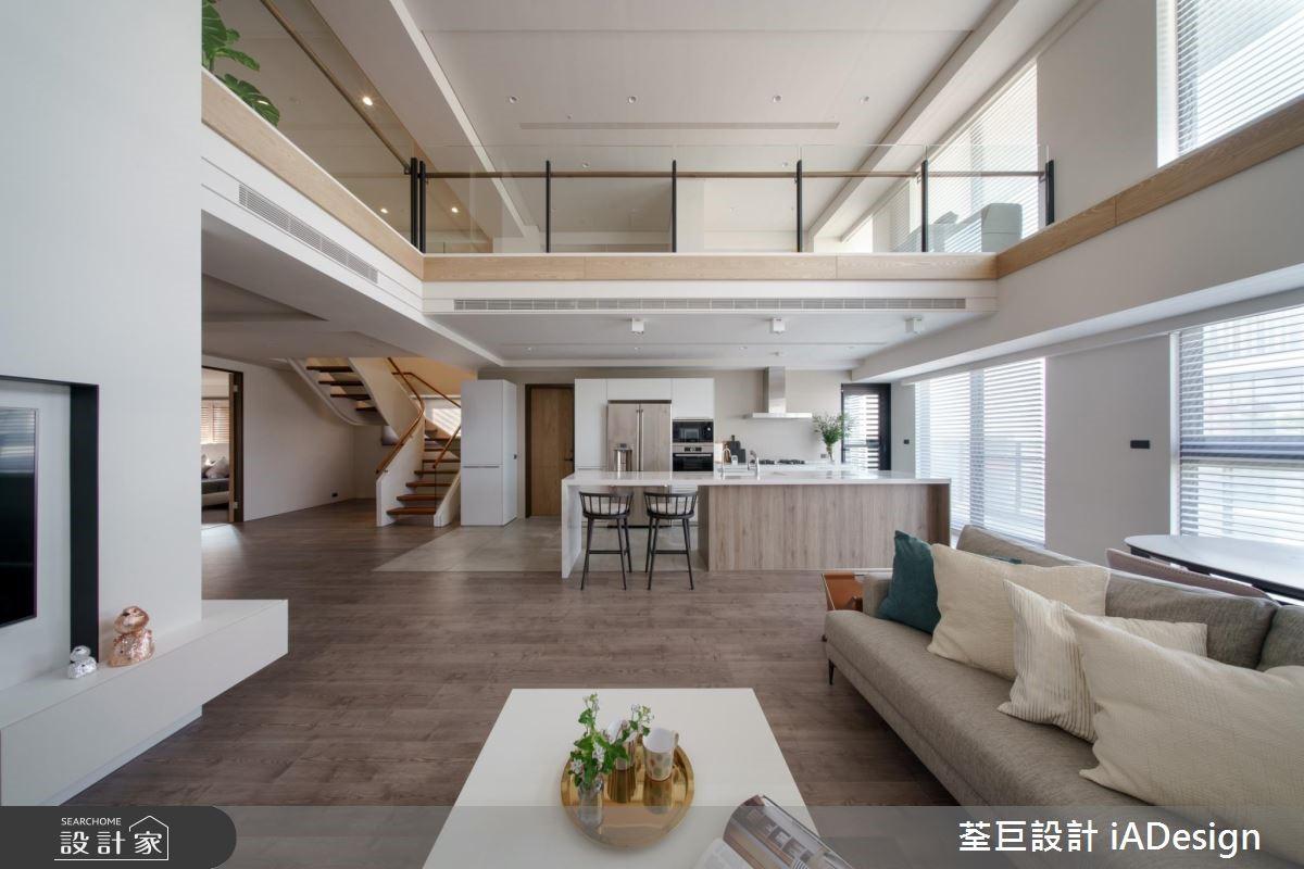 改變樓梯位置、創造全新生活!樓中樓大宅的互動好光景