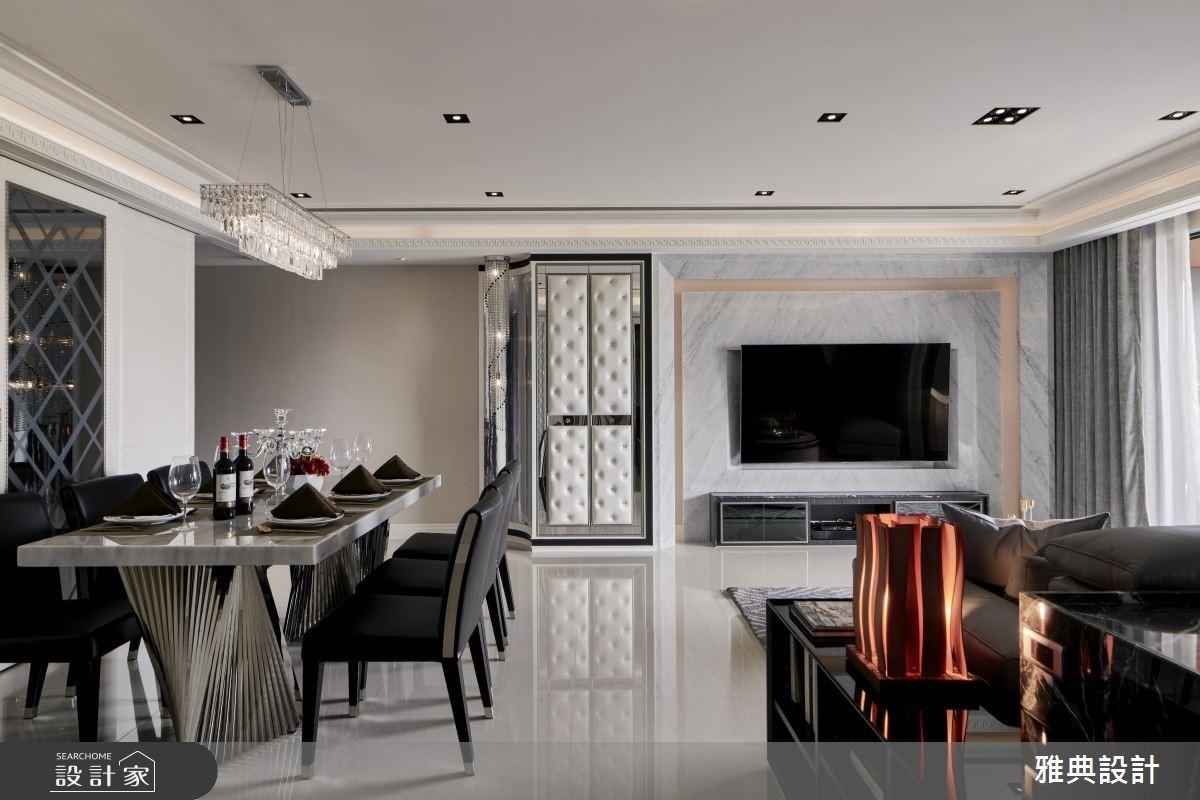 以奢華優雅的35坪家屋 詮釋對家人無微不至的愛