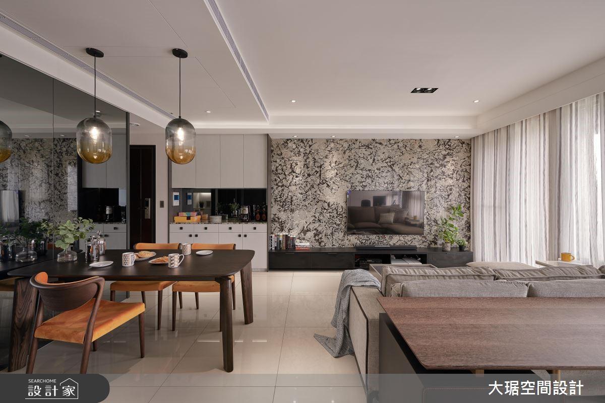 現代風三口之家,新年新氣象的舒適好設計!