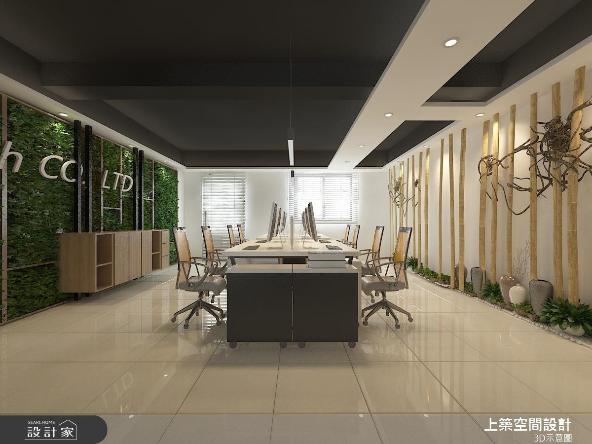 上班就像逛精品店!塑造 80 坪辦公空間的高尚品格