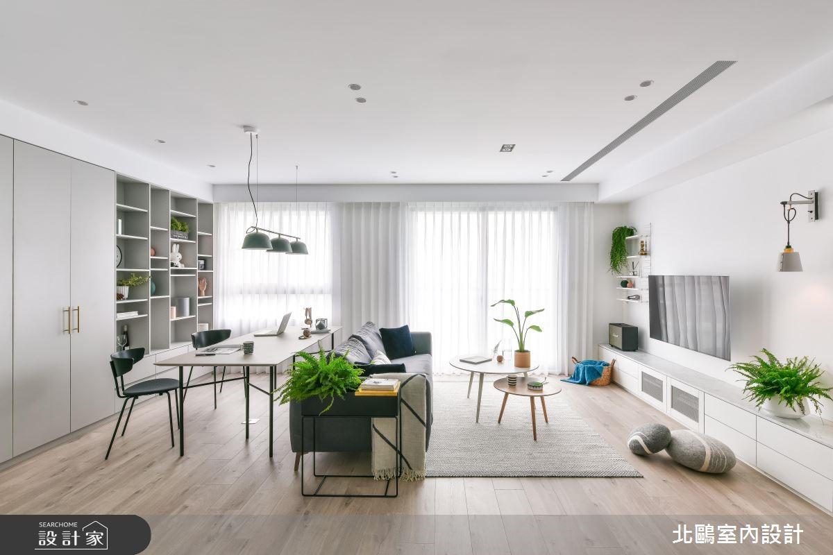 合宜住宅+北歐風!小資家庭的輕鬆成家好方案