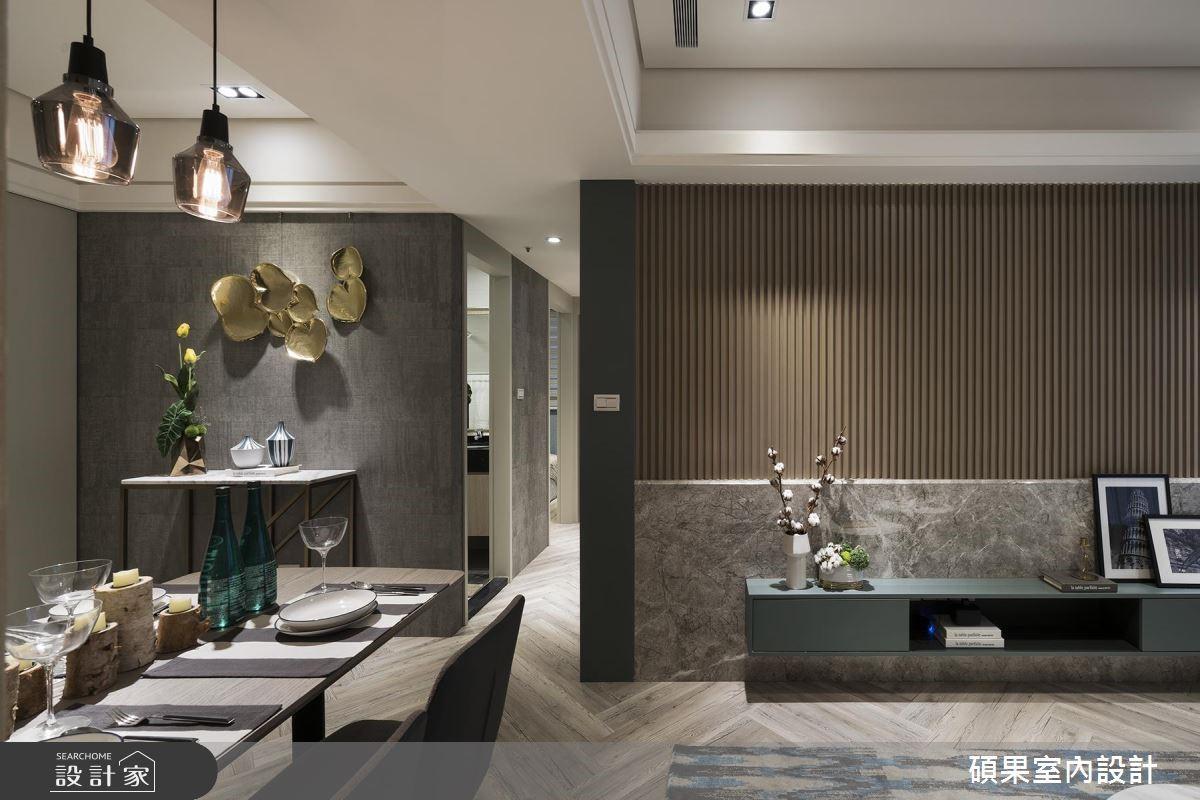 25坪質感居家時髦亮相!新穎壁材演繹精緻生活