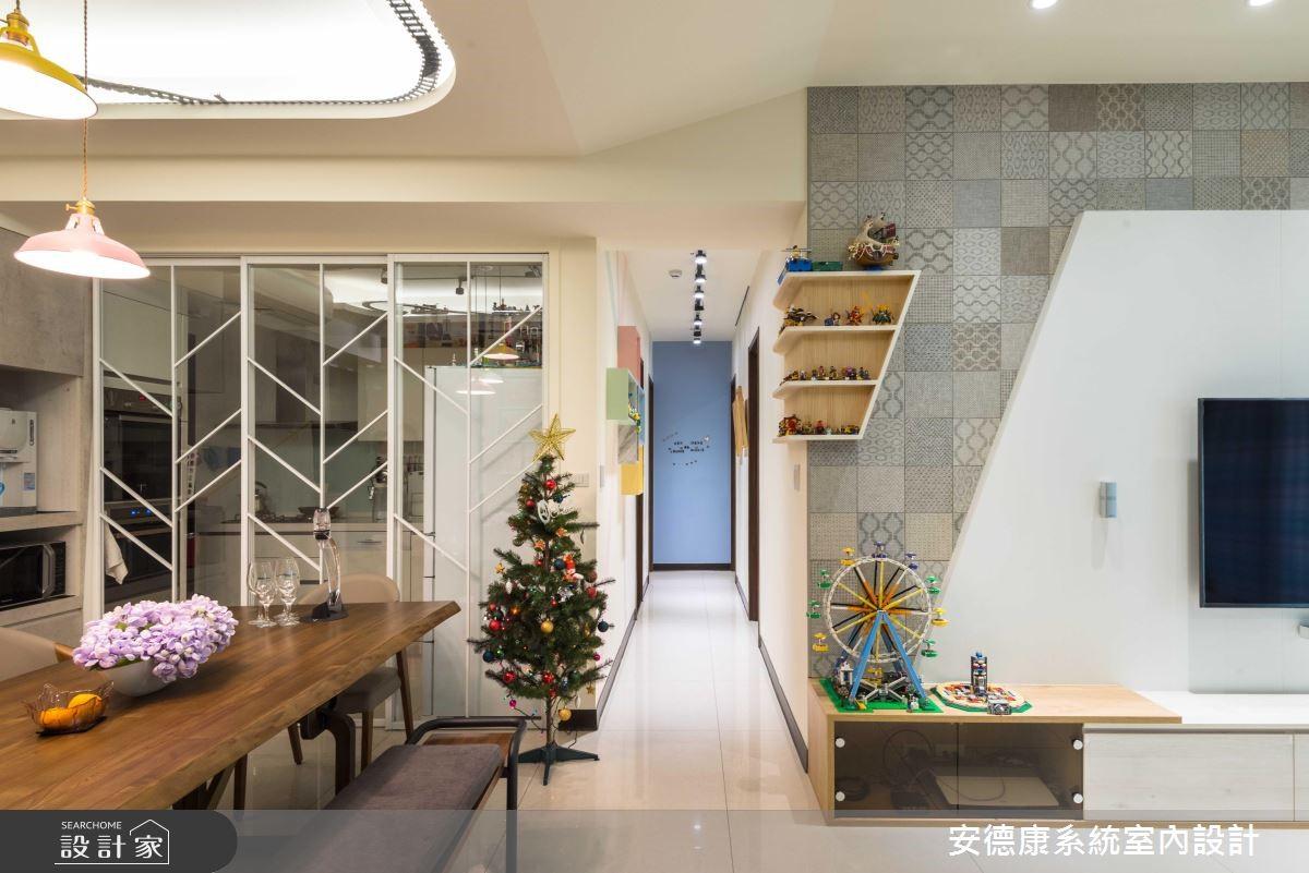 天花板竟出現樂高車軌道?三代同堂宅收納創意無上限!