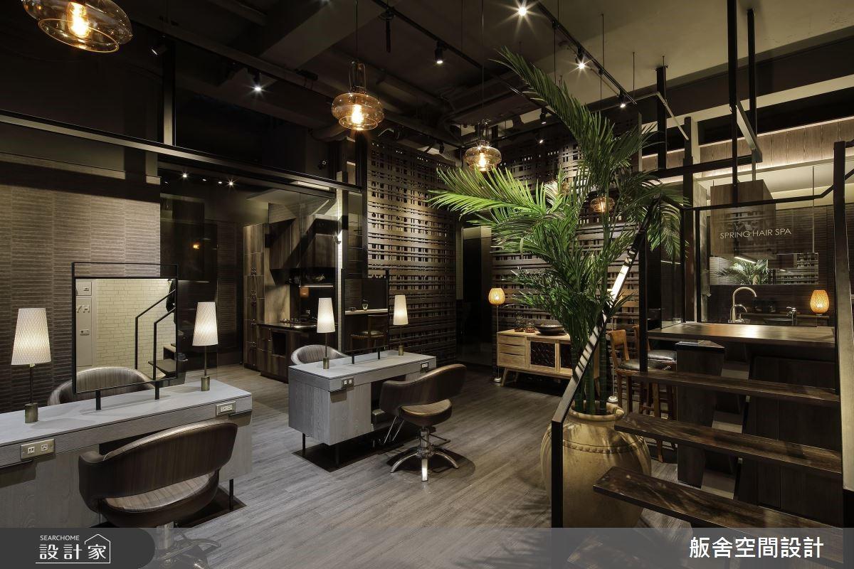 老屋變身特色沙龍!歡迎光臨峇厘島式的叢林髮廊