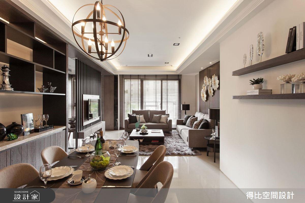 美到沒得比的暖男系居家!善於調配光線的現代簡約宅