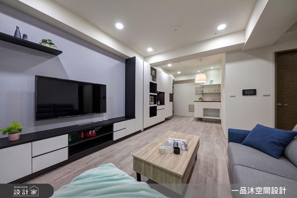黑與白的時尚觀點!系統家具打造家的內斂美學