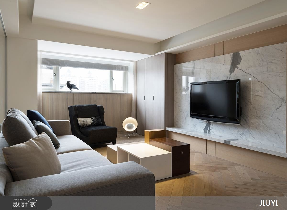流暢好動線+淡雅現代風!中古屋改造你的理想居家
