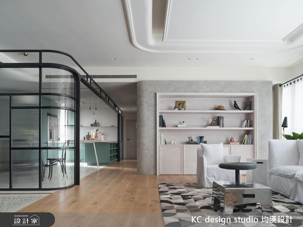 驚豔的透亮玻璃屋與tiffany藍廚房 進化新古典家屋