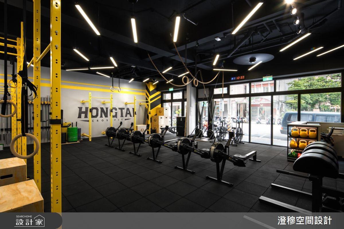 跟上CrossFit浪潮了沒!讓你揮汗有感的工業風健身房