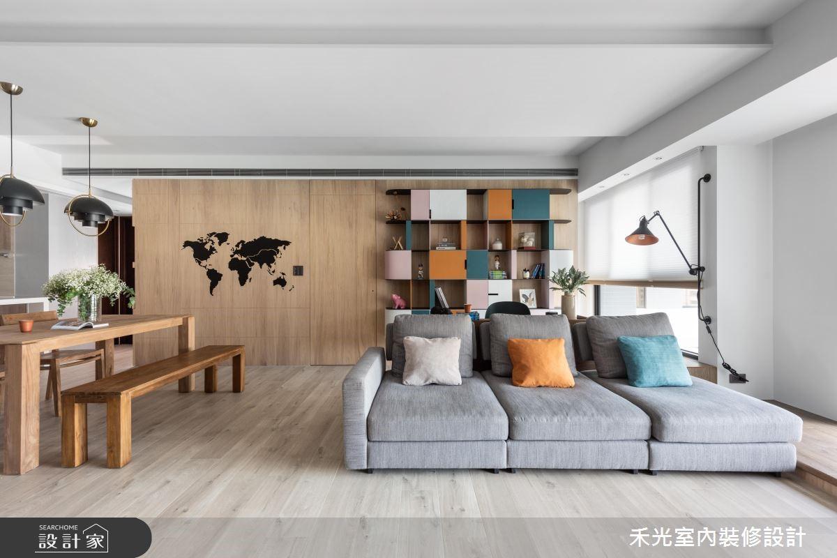 36 坪休閒風居家!屋主:「設計師找到了我家的色彩!」