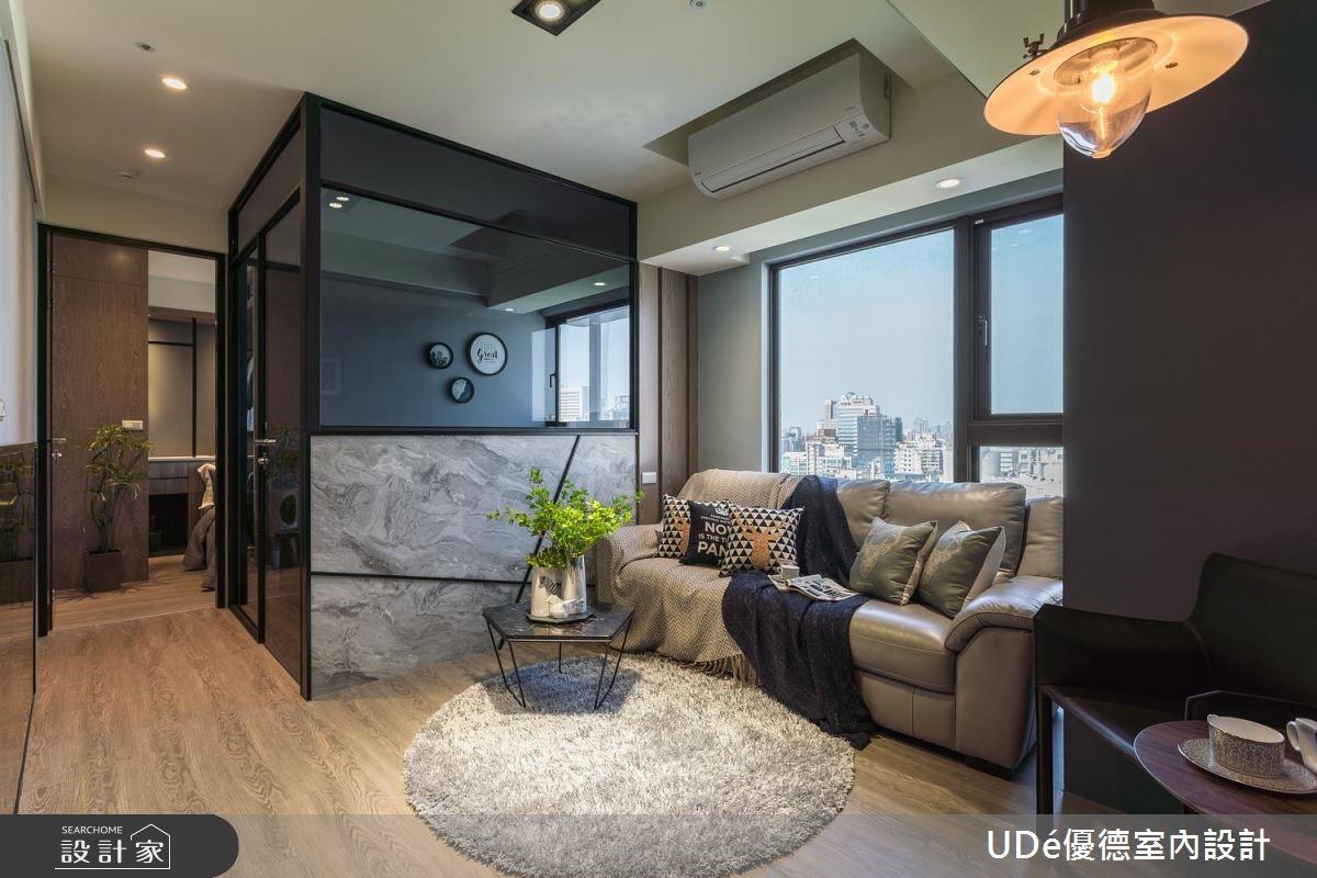 重建電視牆、小臥房!輕鬆打造你的 Loft 風單身宅