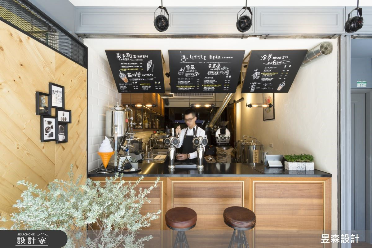 Loft風街邊咖啡館有個性!8 坪也輕鬆抓住行人視線