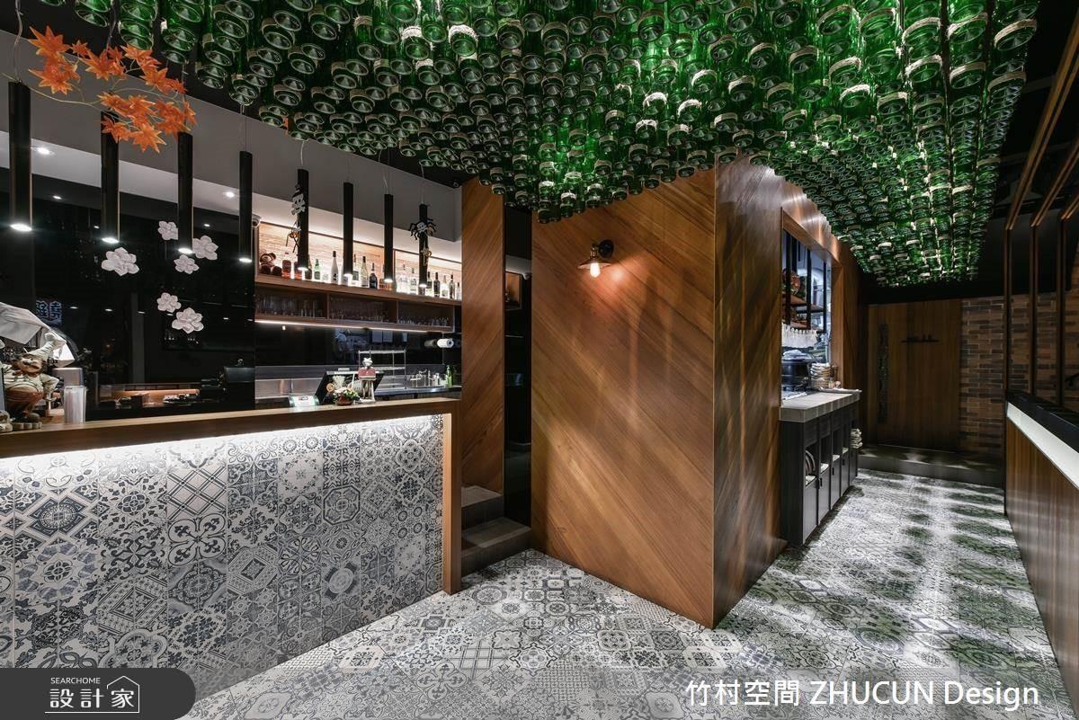 「食上」好空間!米其林餐廳主廚家族的義法餐酒館!