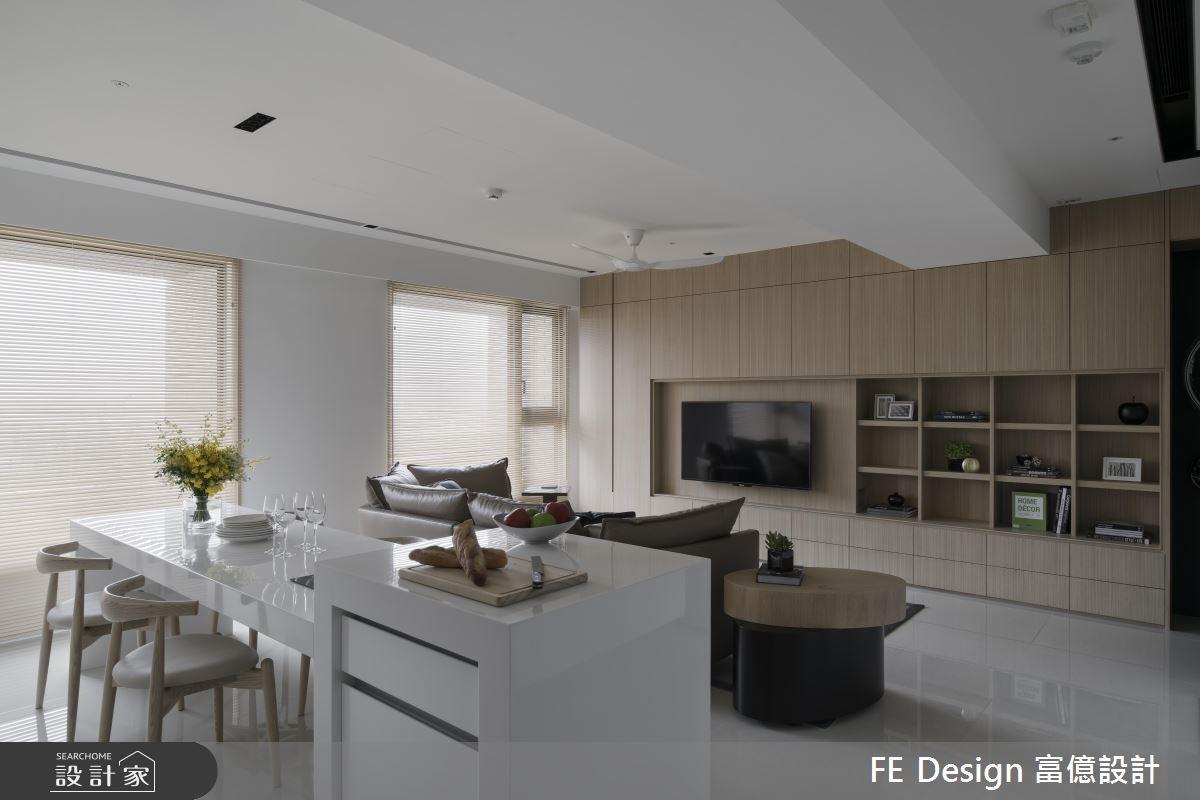 優化機能、拉闊視野!現代風打造我們的清新美寓