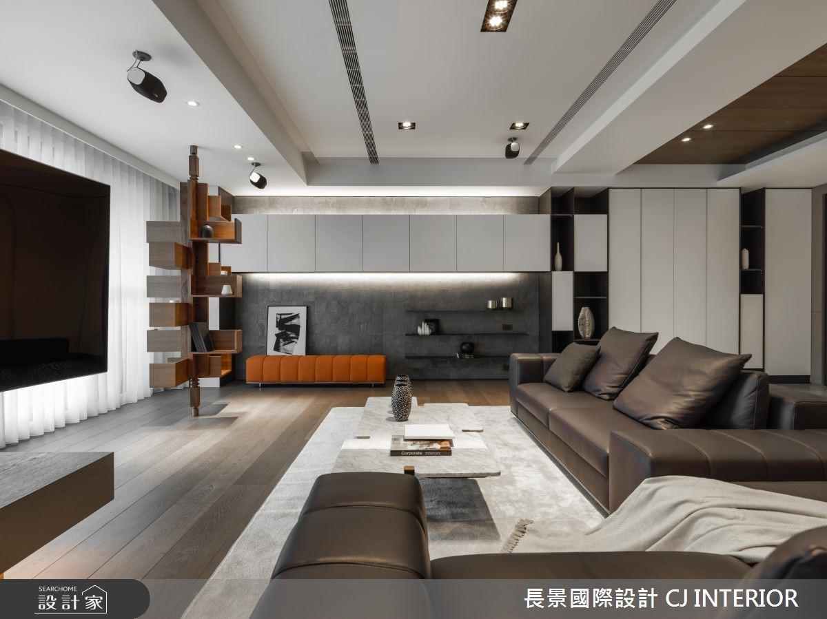 燈光柔美,氣氛慵懶!92 坪低奢現代宅任你鬆懈