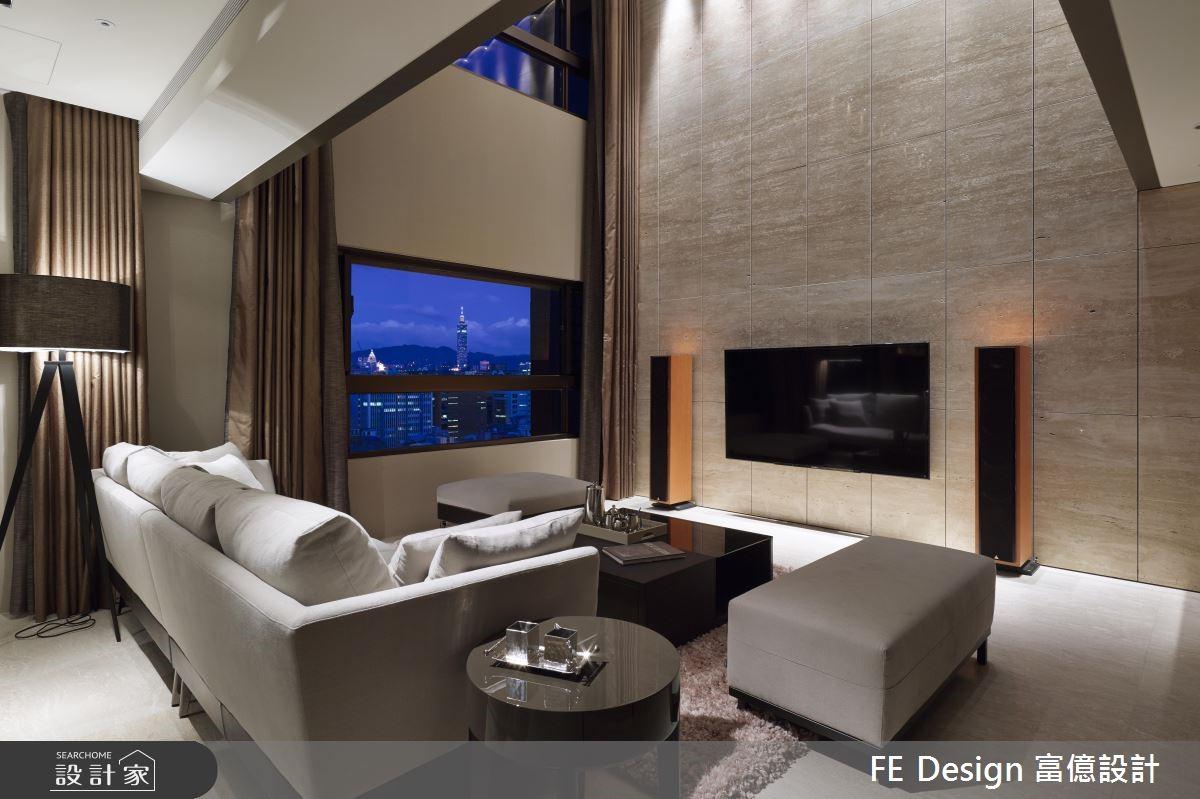 不鋪張也有高度與氣度!氣質取勝的 85 坪挑高別墅