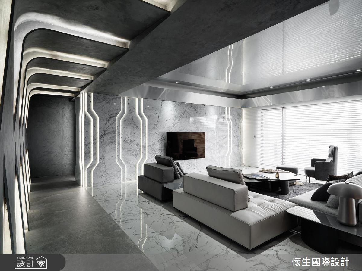 灰色現代科技感豪宅,在最微小的尺度間施展最強大的設計力度!