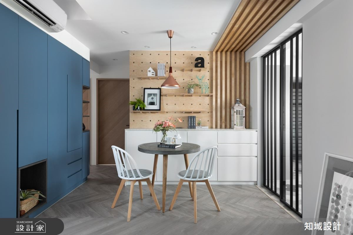 改造25坪老屋成明亮北歐風,坐擁夢幻大廚房和更衣室生活更質感!