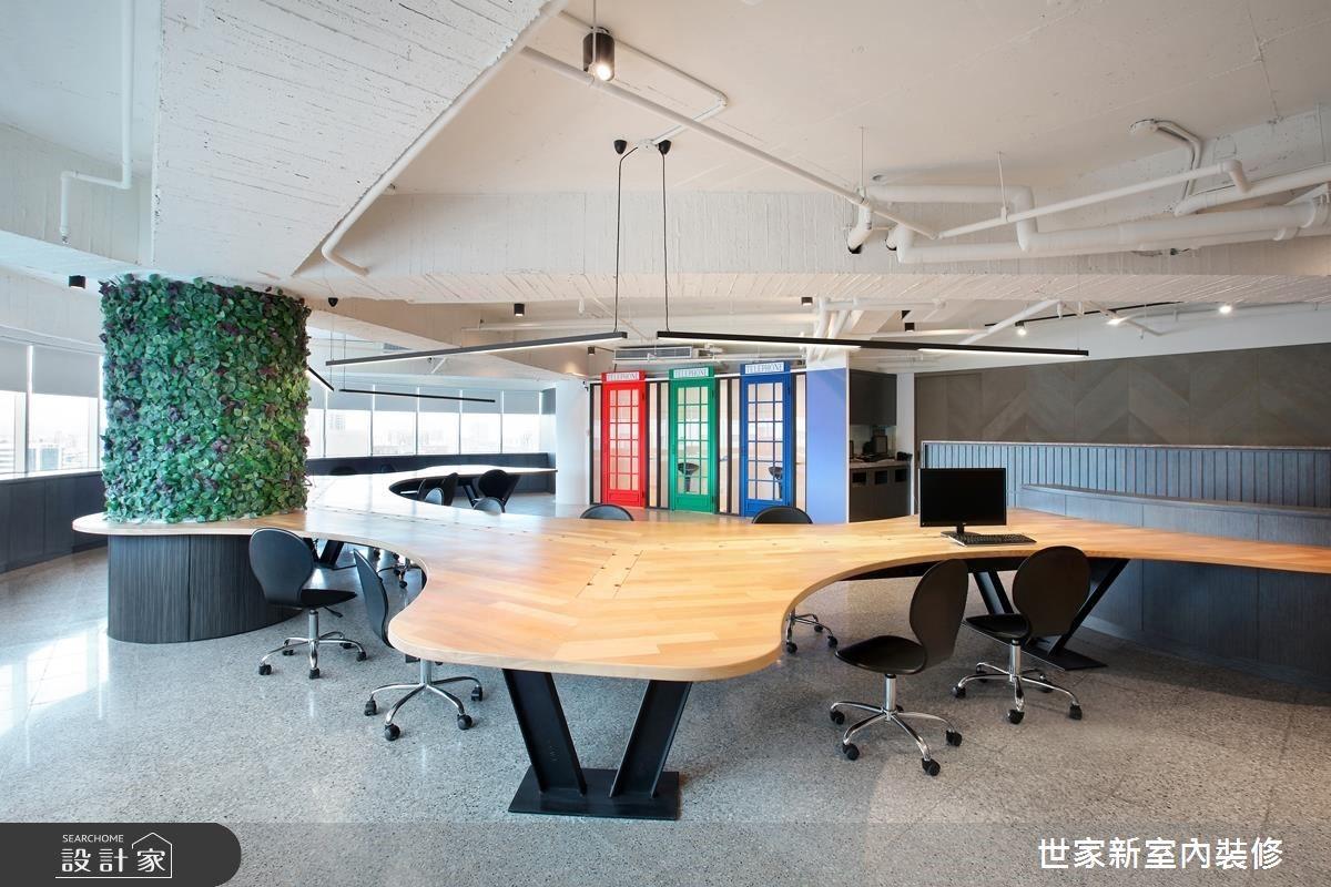 我的行事風格就是不呆板!25 年老屋蛻變為獨特工業風辦公室