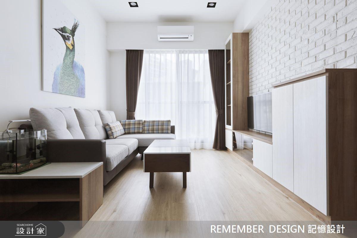 淨白、明亮、好氣色!百萬預算的北歐風單身宅