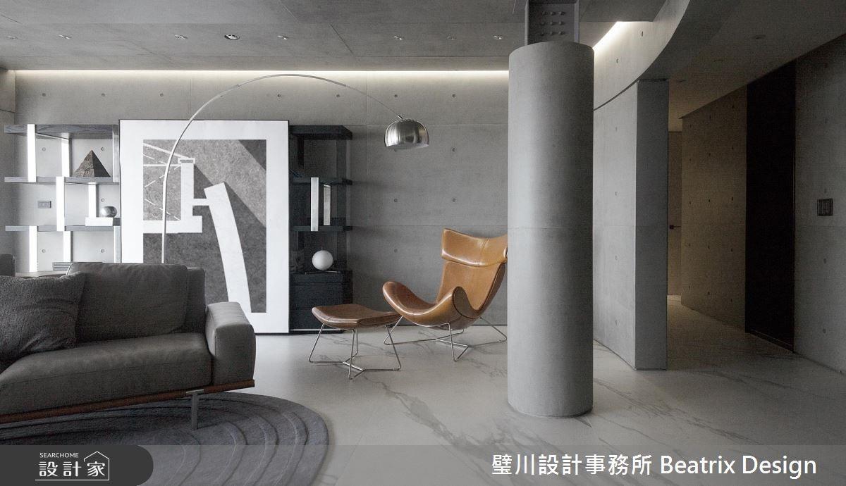 實踐空間減法術!植入白雲意象的簡約現代風宅邸