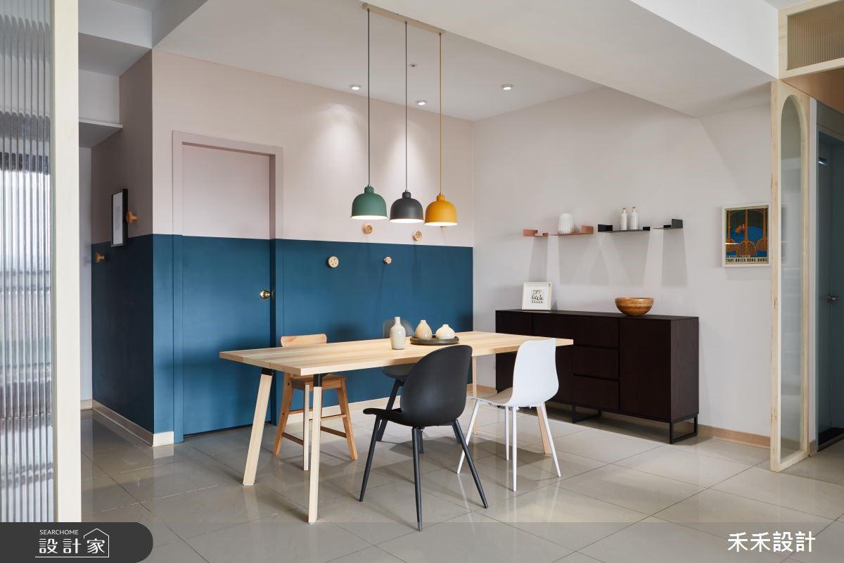 簡約而有韻味,用豐富色彩、家具陳設勾勒出美好的生活情境