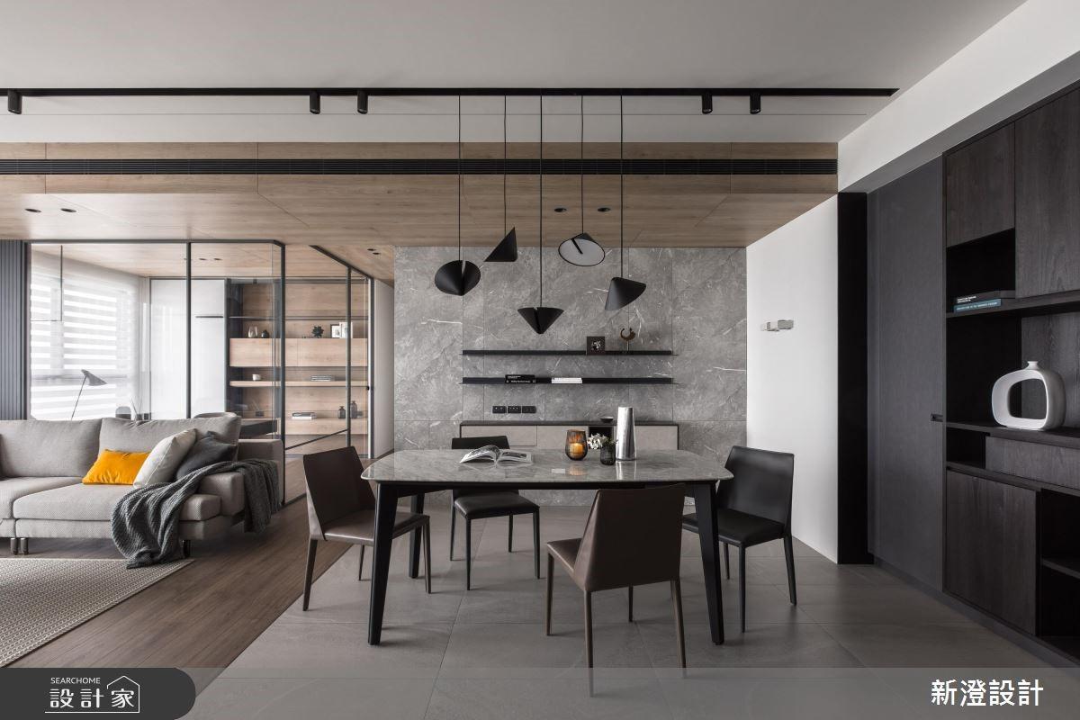 玻璃屋+多元收納+暖調木紋 敞徉開放明亮現代宅