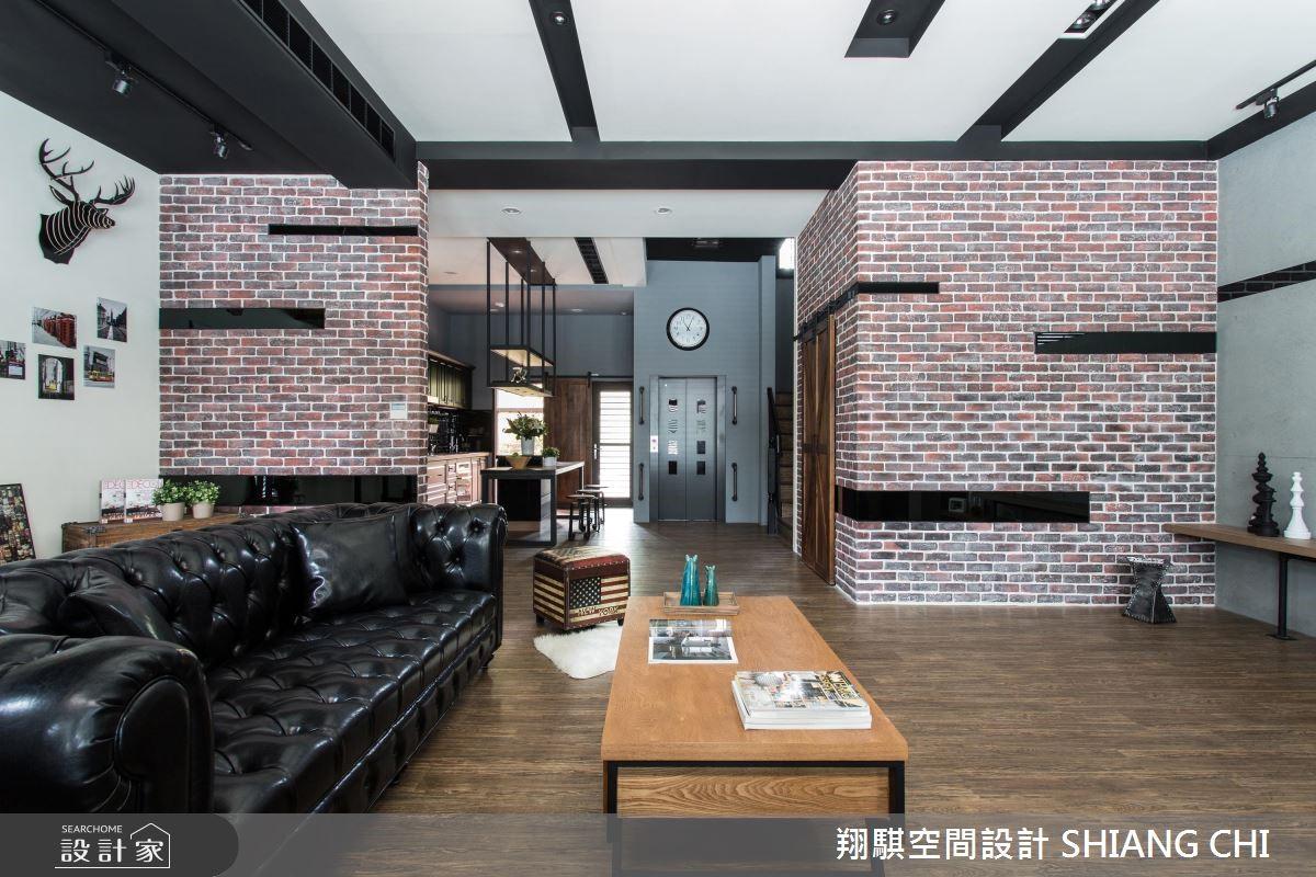 紳士與淑女的質感私宅!暖陽照耀英式復古工業風公寓