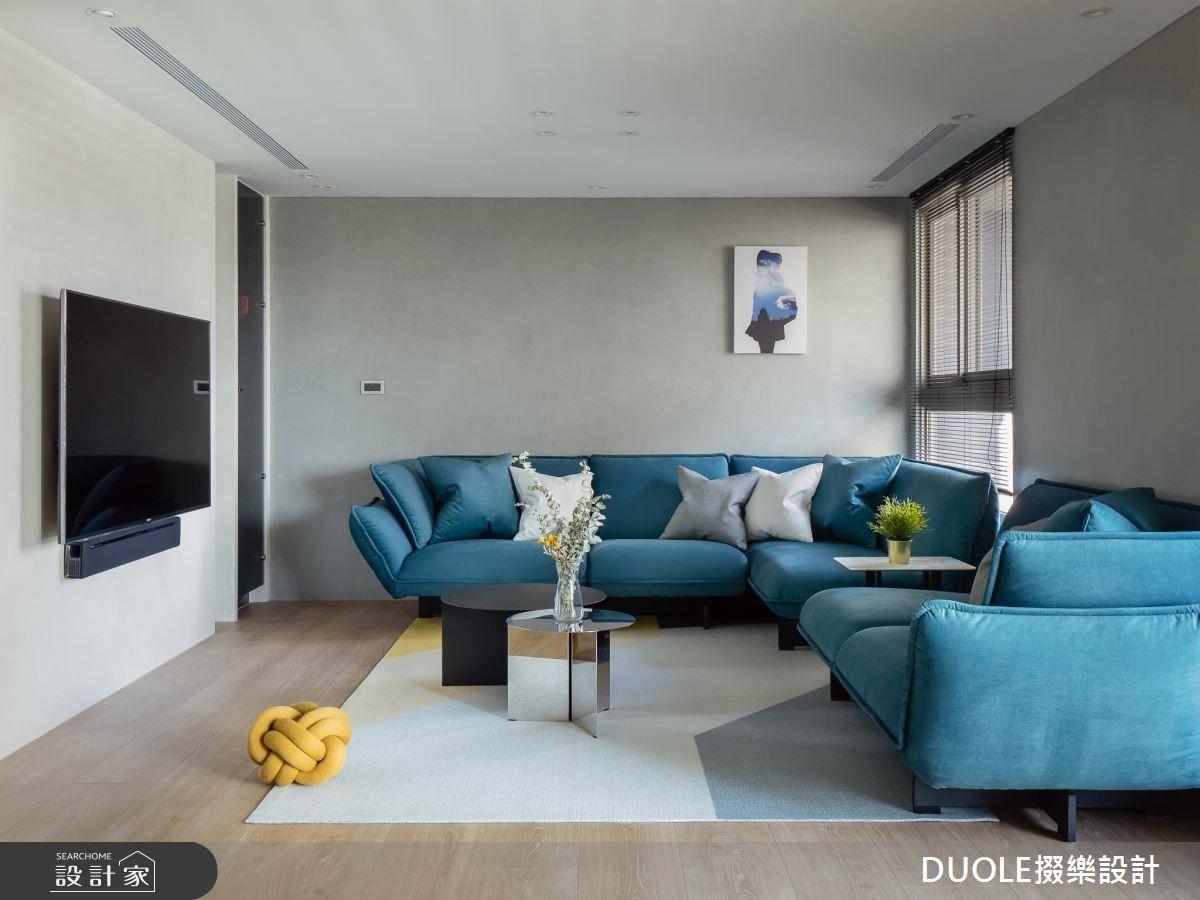把現代宅變大的秘密是?客廳放角落,空間超彈性!