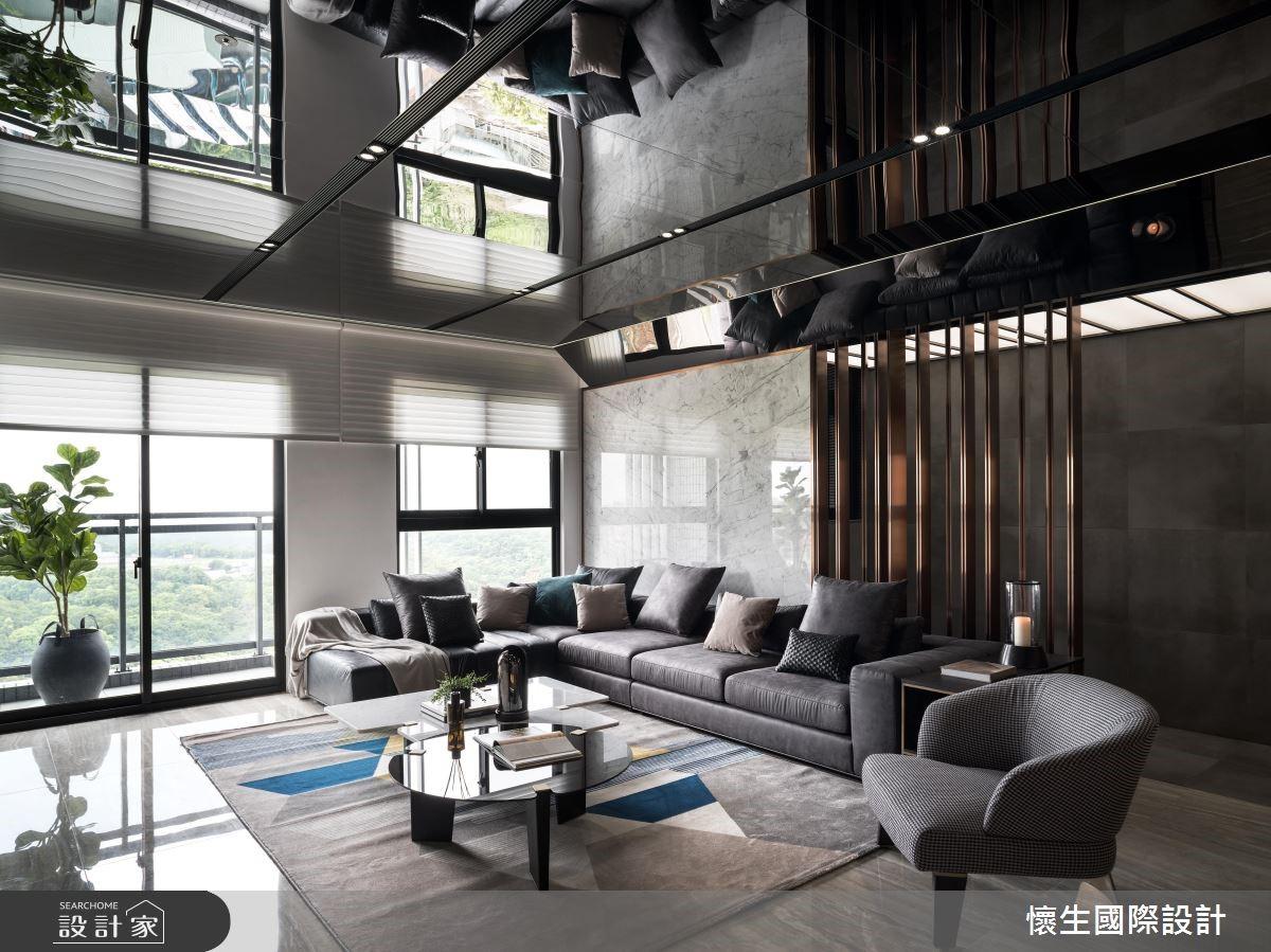 藏不住的好品味!沈穩色系與自然建材詮釋現代風格的經典