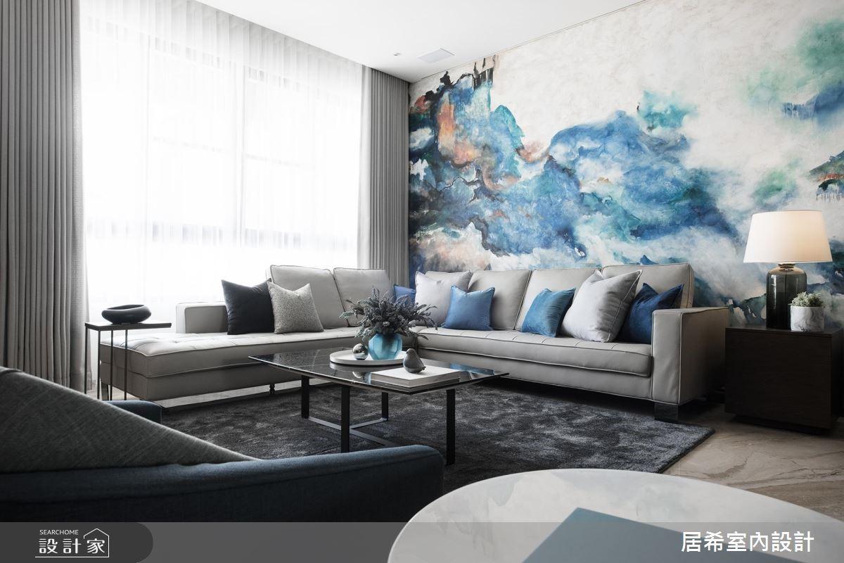 揭開宅邸中的神祕機關!湖水藍帶來嶄新東方風時尚
