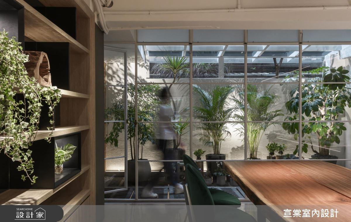 植栽芬芳了老屋 瀰漫綠意體現設計的嗅覺