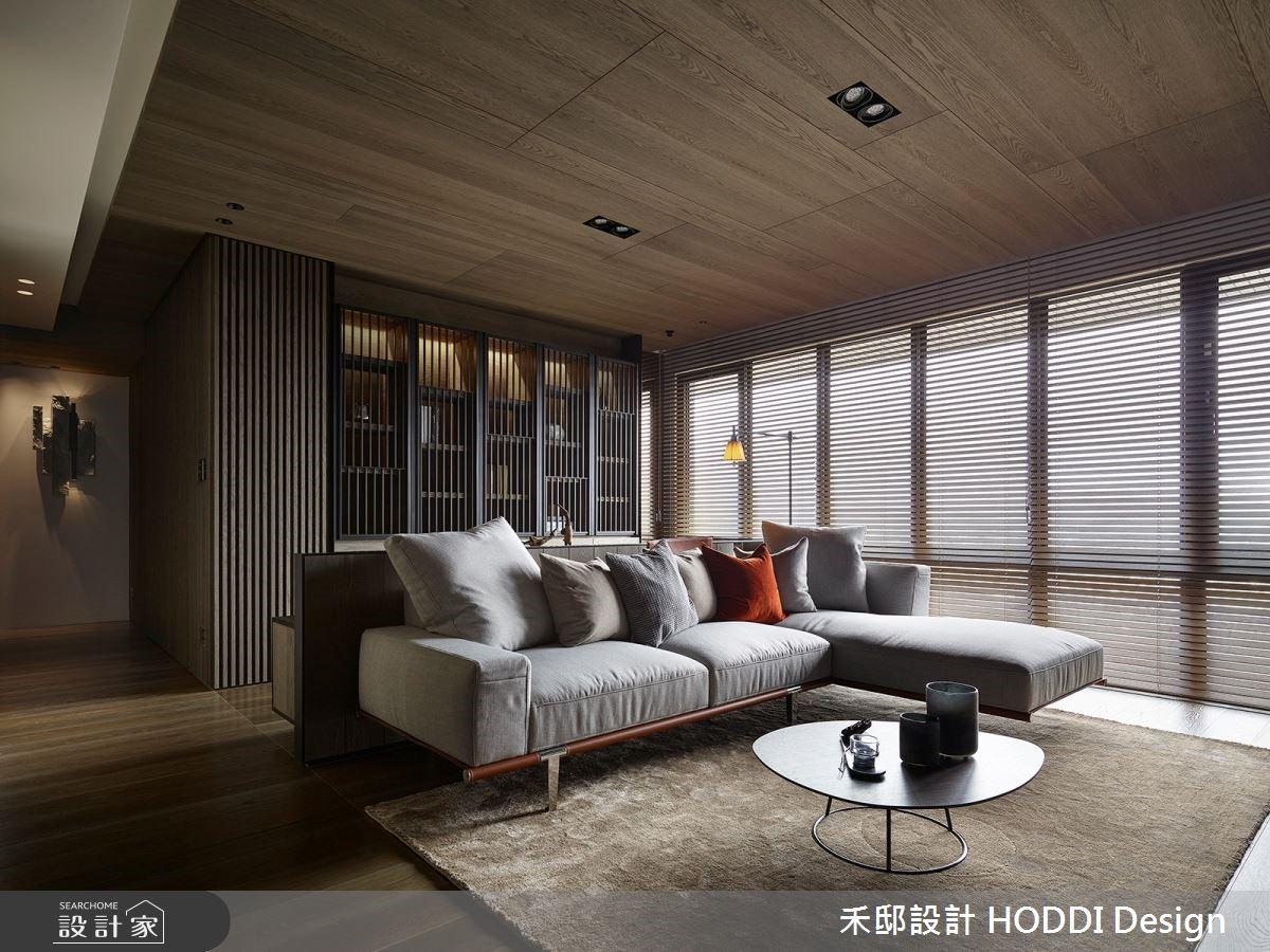 如入山林古木之域 「原木+石材」演繹飯店級住宅的悠然清淨