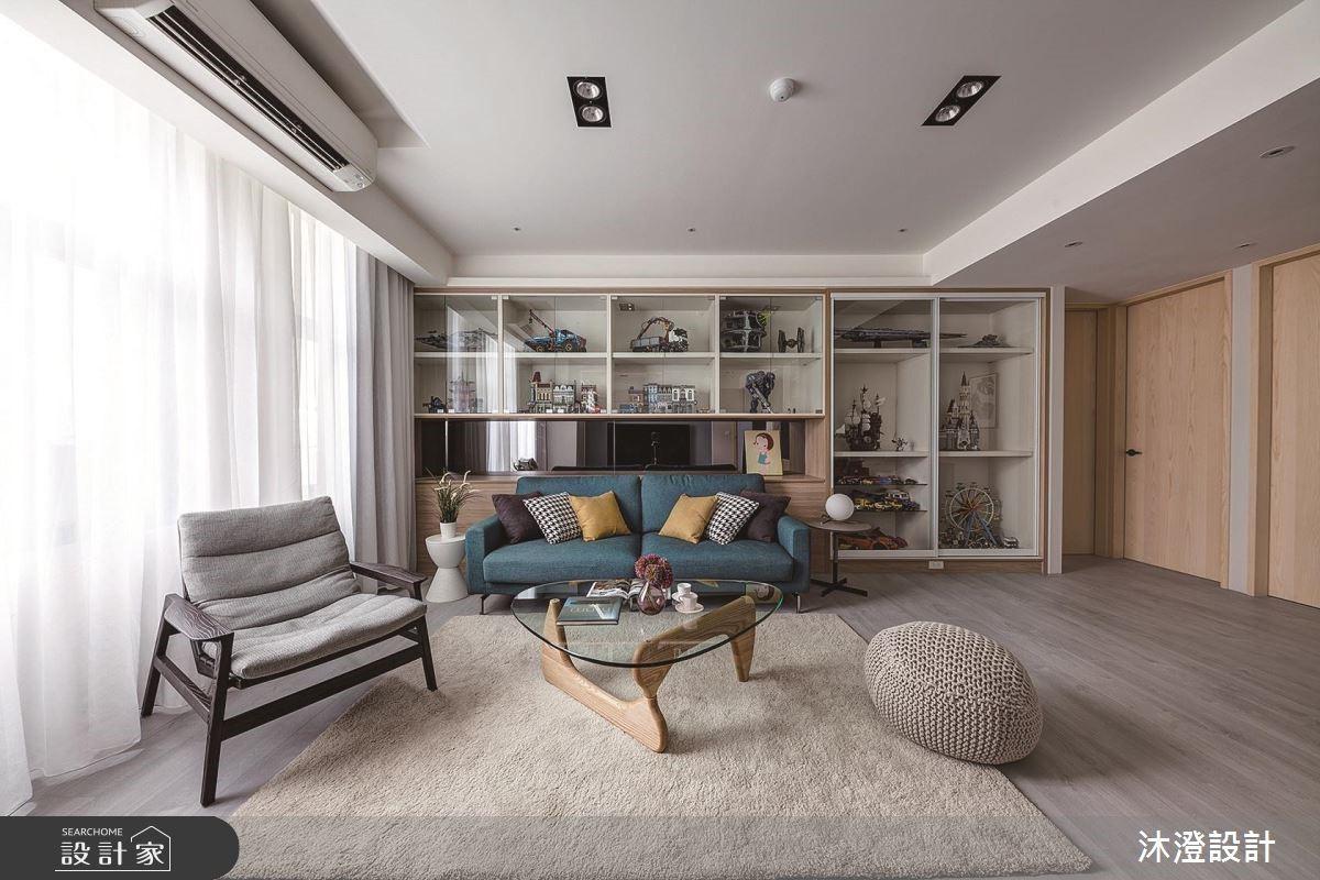 入住清新好視野!北歐風改造20 年老公寓