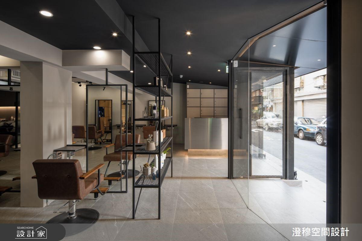 少即是多的現代感沙龍空間,給顧客賓至如歸的體貼設計