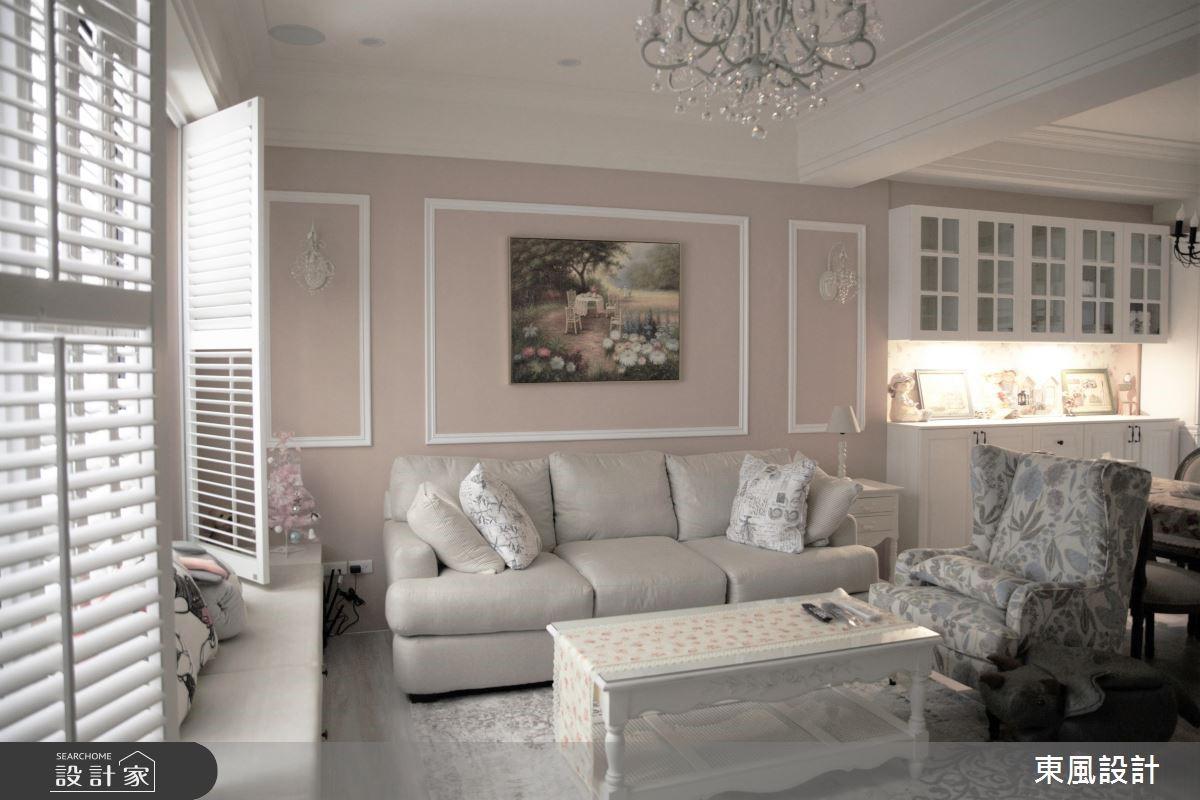 線板、百葉窗靈活用!打造美式鄉村別墅濃濃異國風