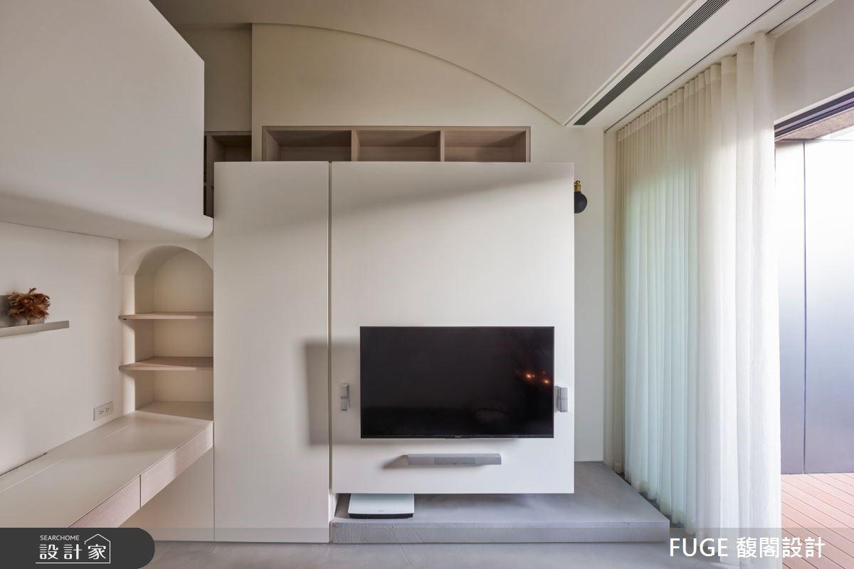 盡善盡美的空間活化術!9 坪女子公寓也能分房睡
