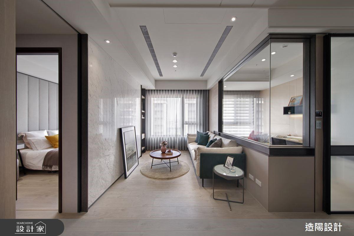 雅致輕淺色調的現代風格,讓28坪好家兼具舒適與機能!