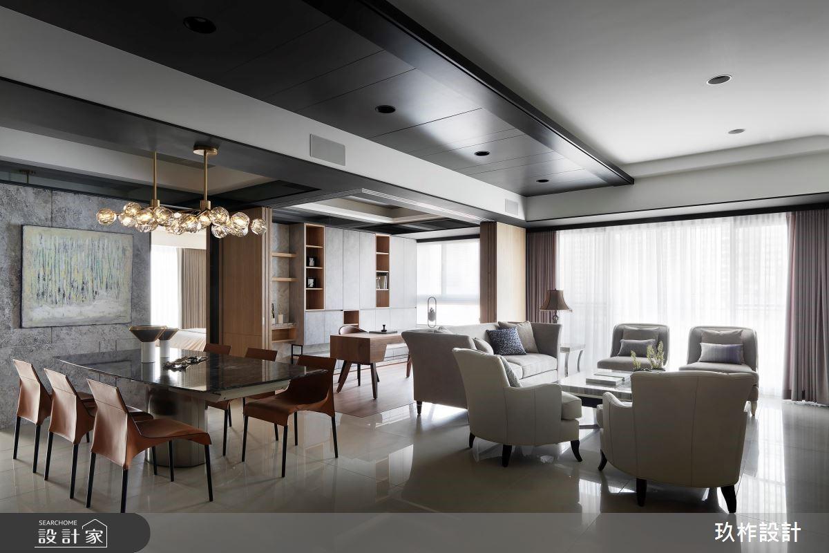 大客廳就是舒心!擁有低調俐落的高質感豪宅!
