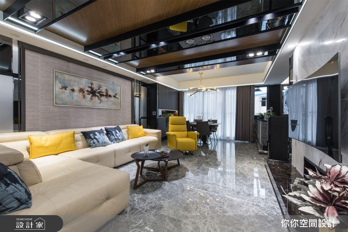 40 年老公寓活起來!時尚餐廚、氣派客廳改變年輕家庭生活品質