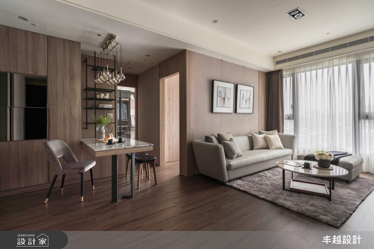 浪漫成就經典!用大地色系描繪41坪溫潤木質現代宅
