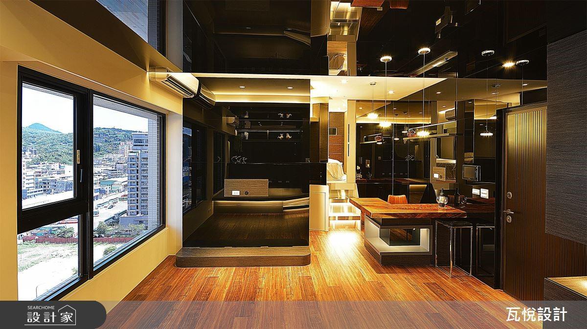15 坪小宅是我們的豪華休息站!微醺吧檯、五星臥房應有盡有