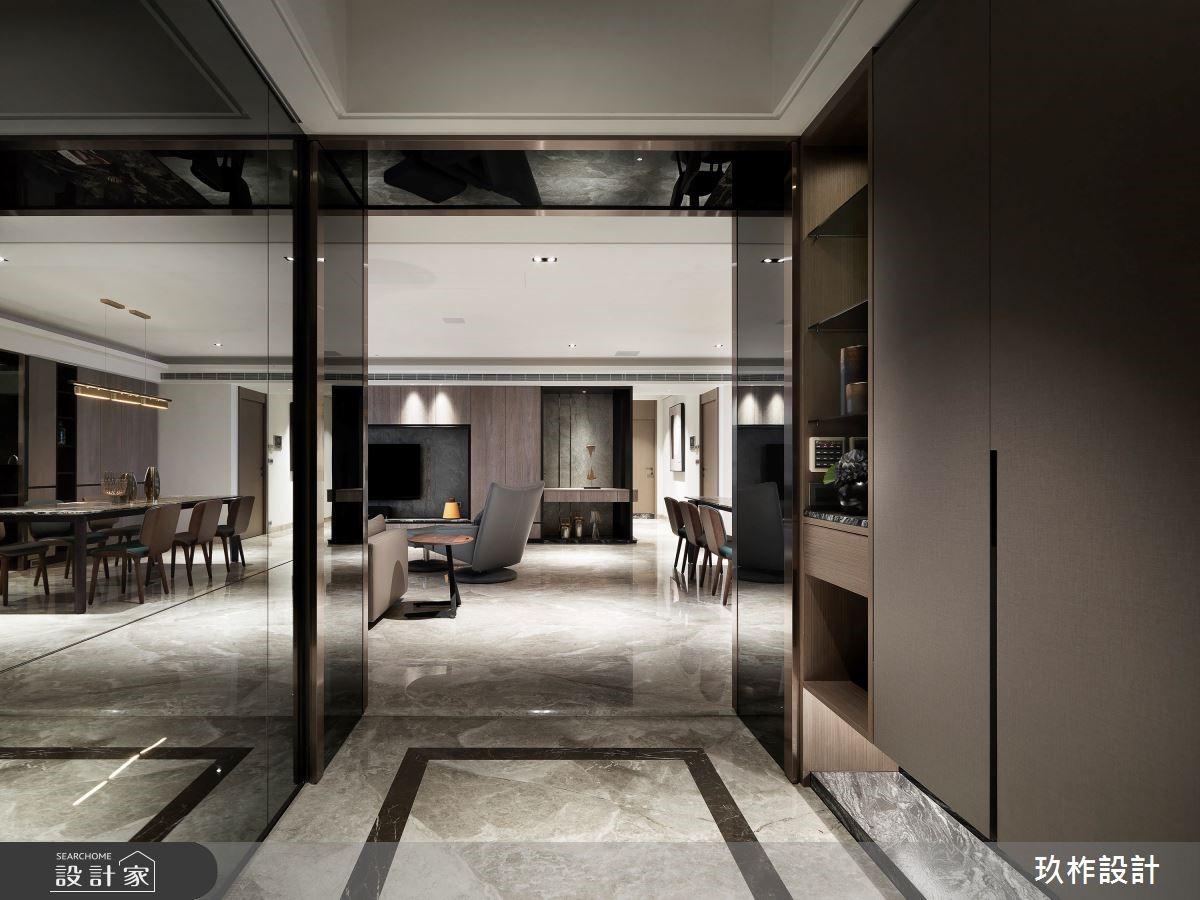 寬敞、沉穩、好大器!88坪精品飯店式的現代好宅!