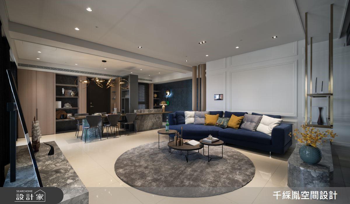 翻轉你對新古典的想像!注入義式風格的52坪輕奢華邸