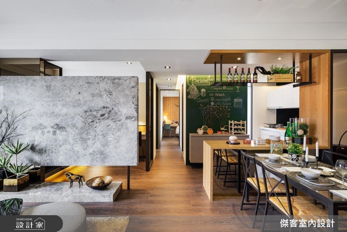私宅裡飄香!專為家人訂製的私廚空間,把生活的溫暖端上桌