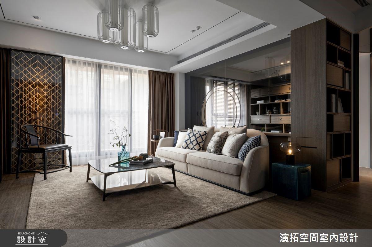現代風與新中式美學的完美結合,33坪優雅氣質宅邸