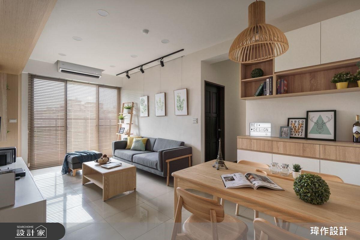 木質感好溫馨!18坪清新空氣宅,北歐風與無印風的簡約自然